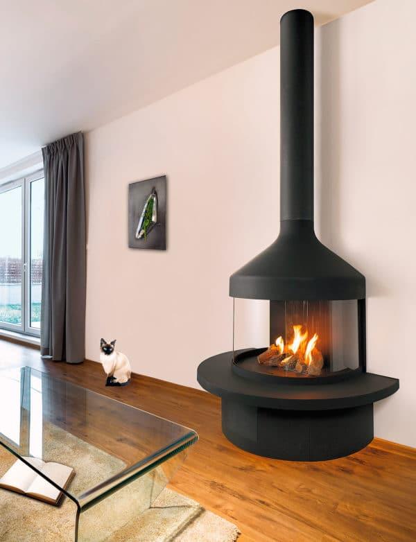 cheminee contemporaine optifocus1250 gaz rvb