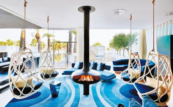 cheminee design centrale hotelbarcelone rvb 0