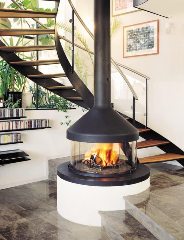 cheminee design centrale meijifocus escalier suisse