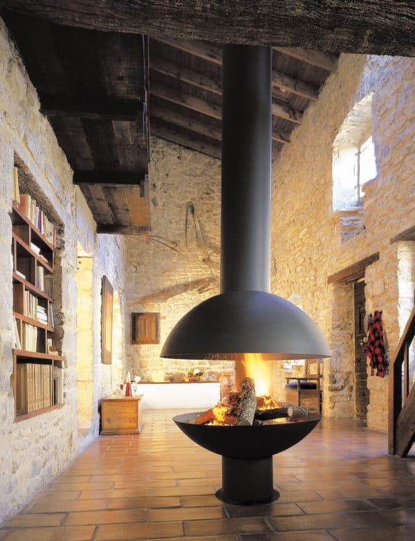 cheminee design centrale mezzofocus di rvb