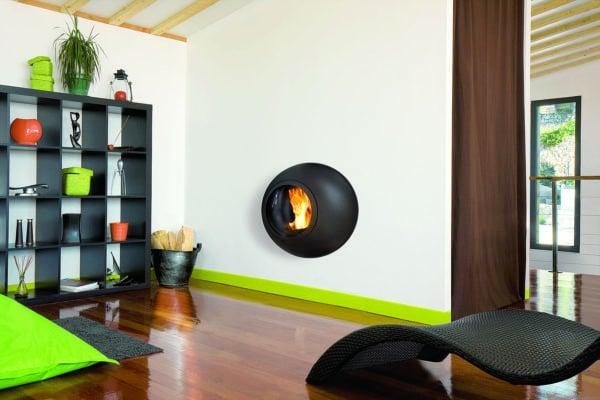 cheminee design emifocus hublot da 1