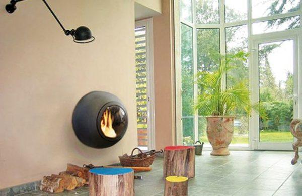 cheminee design emifocus hublot da 2