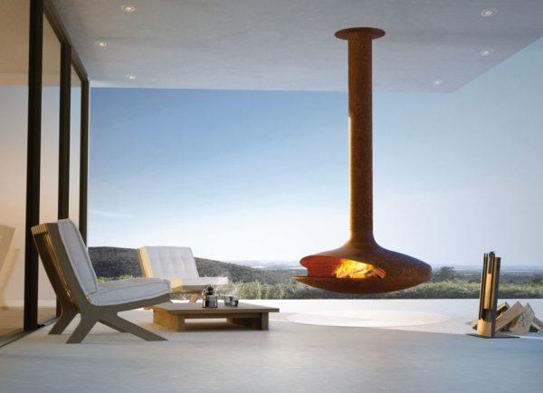 cheminee design gyrofocus outdoor rouille rvb